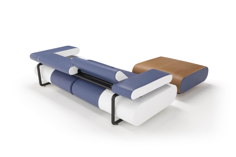 ספה נפתחת למיטה זוגית מושב מתכוונן