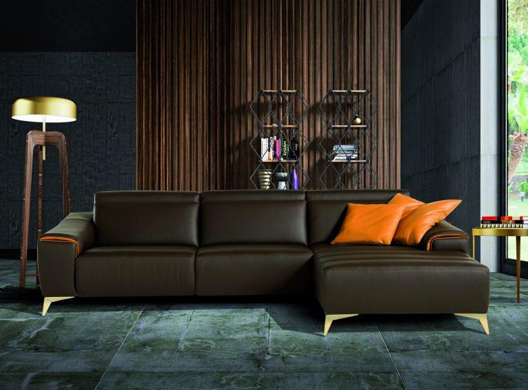 ספה מעור פינתית דגם suzette