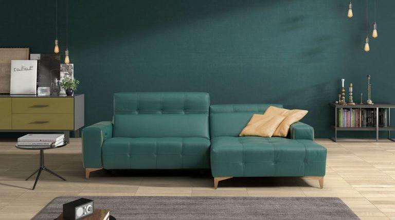 ספה עם ריקליינר דגם Tiffany