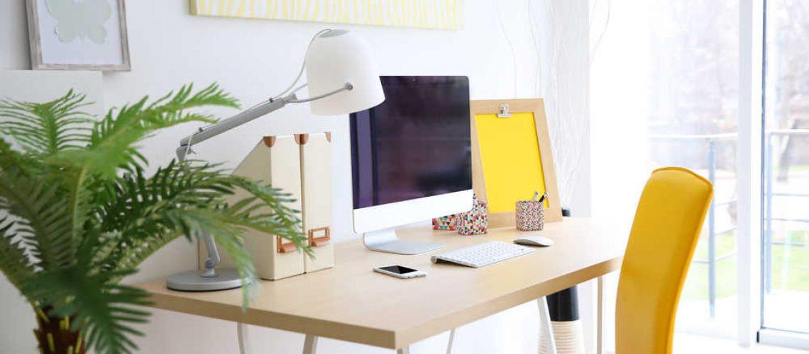 הדמיה של משרד ביתי